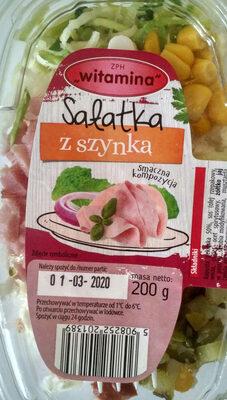 Sałatka z szynką - Produkt - pl