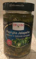 Papryka Jalapeño zielona w zalewie octowej - Produkt