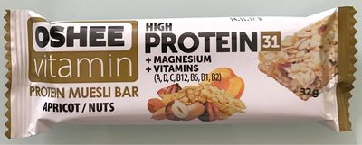 Protein Muesli bar Apricot Nuts - Product