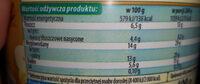 Serek o smaku waniliowym - Wartości odżywcze - pl