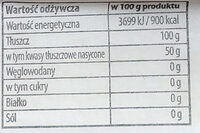 Smalec wieprzowy - Wartości odżywcze - pl