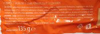 Biszkopty z galaretką o smaku pomarańczowym w czekoladzie - Składniki - pl
