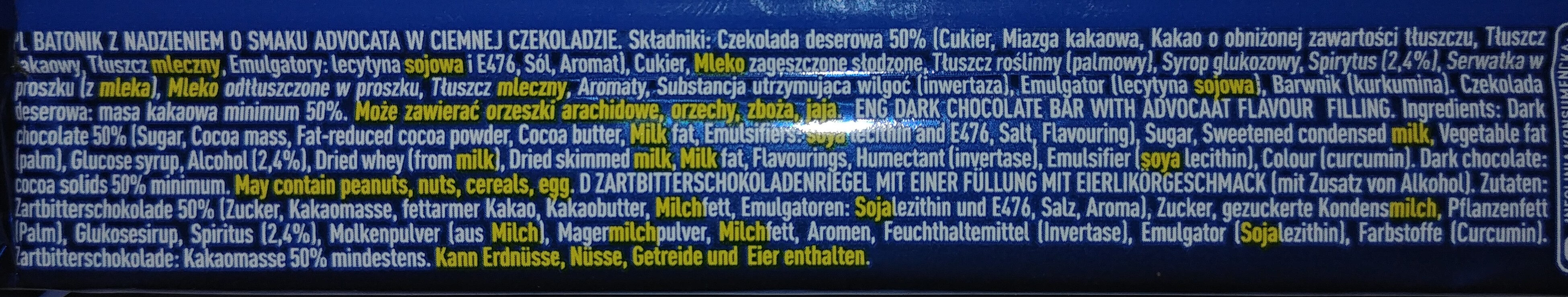 E. Wedel Pawelek Advocat - Ingrédients - pl