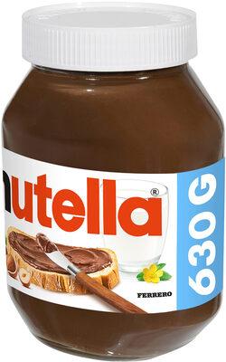 Nutella pate a tartiner noisettes-cacao t630 pot de - Prodotto - fr