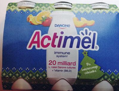 Actimel o smaku wieloowocowym - Produkt - pl