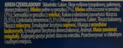 Krem wedlowski - Ingrediënten