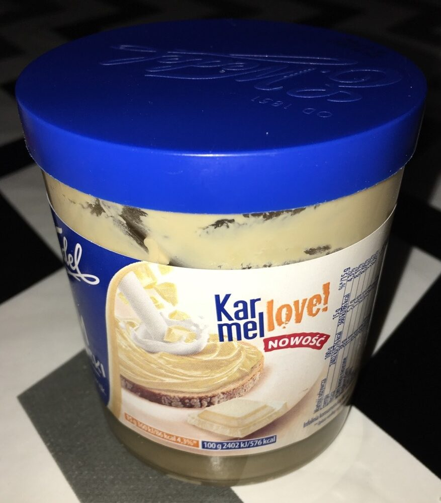 Karmel Love!,Krem Wedlowski - Product - pl