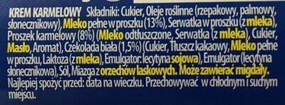 Karmel Love!,Krem Wedlowski - Ingredients - pl