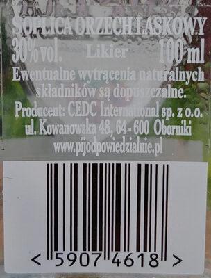 Wódka - Składniki - pl
