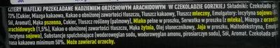 WW gorzka czekolada - Ingrediënten - pl