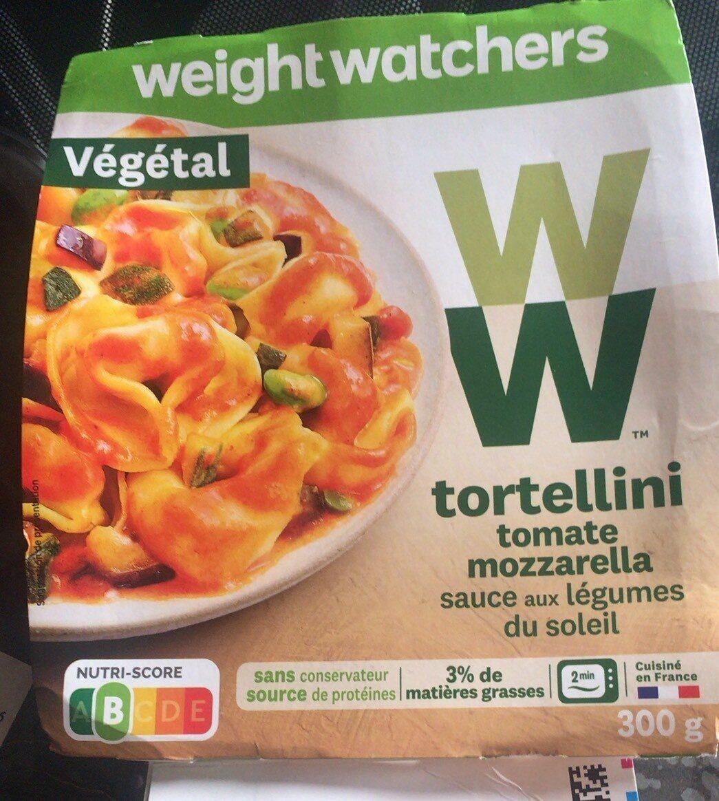 Tortellonis tomates mozzarella - Product - fr