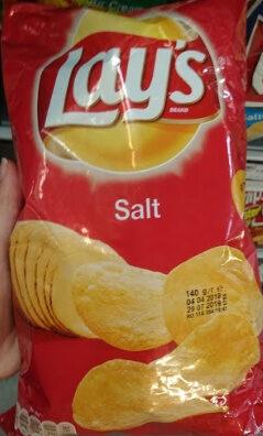 Lays chips salt - Продукт - en