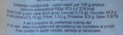 Dobrogea Pâine Albă - Nutrition facts - ro