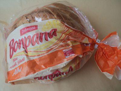 Dobrogea Pâine albă, rotundă, feliată - Product - ro