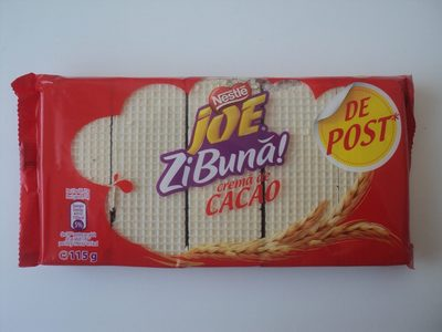 Joe Zi buna Napolitane crocante cu crema de cacao - Product