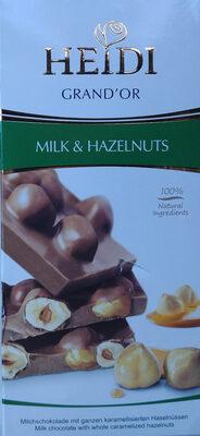 Mleczna czekolada z karmelizowanymi orzechami laskowymi - Produkt