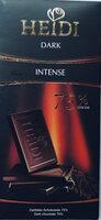 Heidi Chocolate Dark Intense 75 Percent (pack Of 2) - Produkt - pl