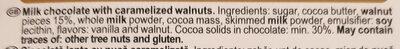 Grand'or Walnuts - Ingredients