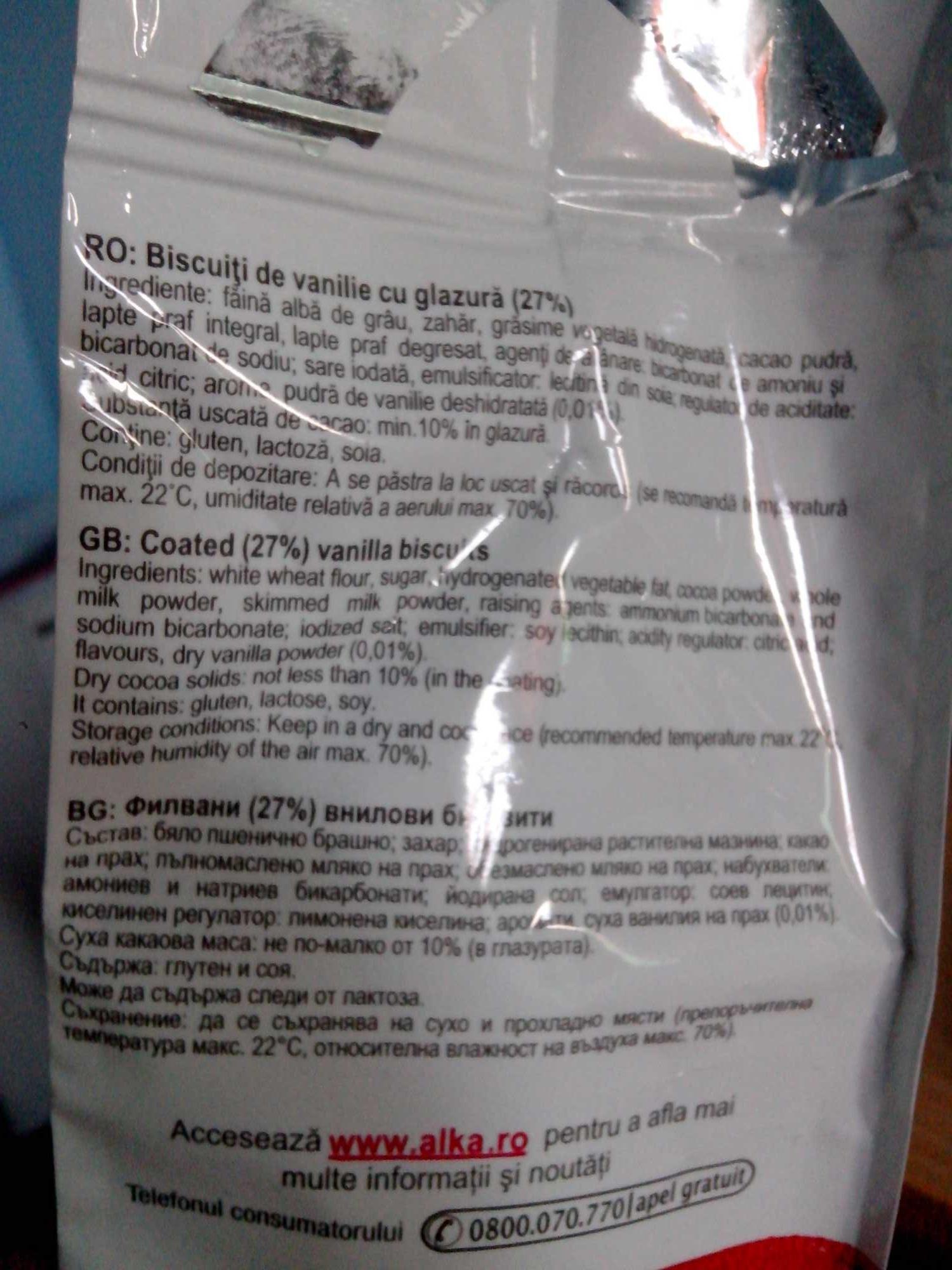 Biscuiții casei - Ingredients