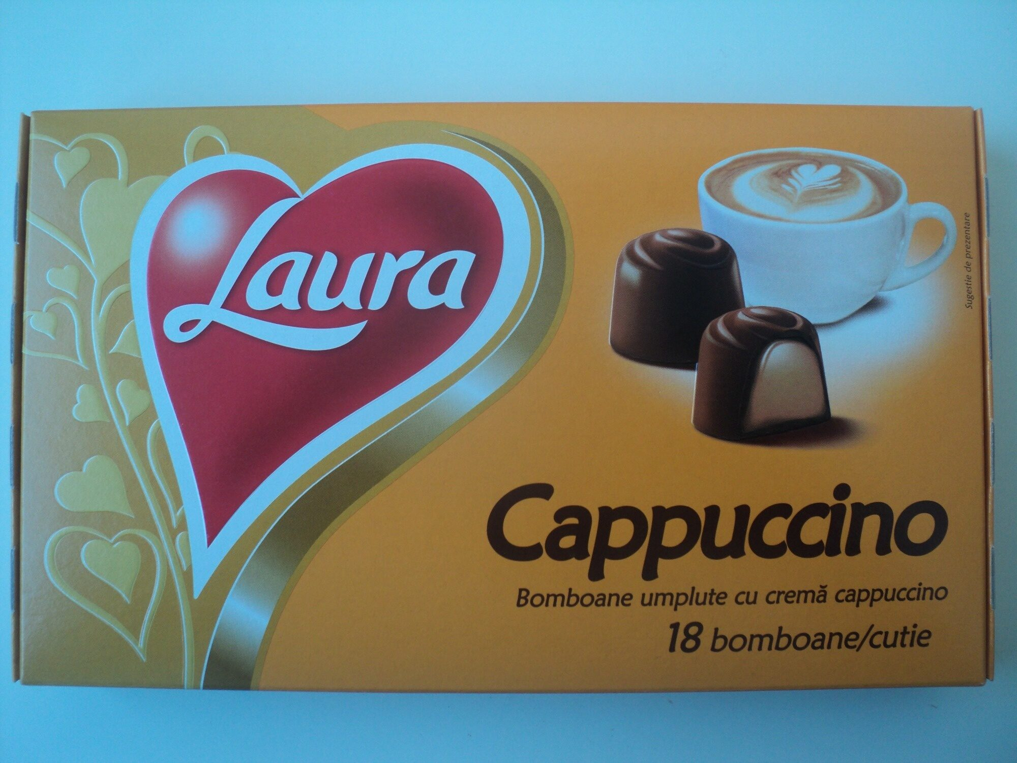 Bomboane cu cremă cappuccino - Producto - ro