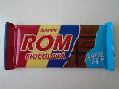 Rom Ciocolată lapte cu cremă rom - Producto - ro