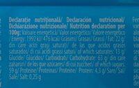 Rom Ciocolată lapte cu cremă rom - Información nutricional - ro