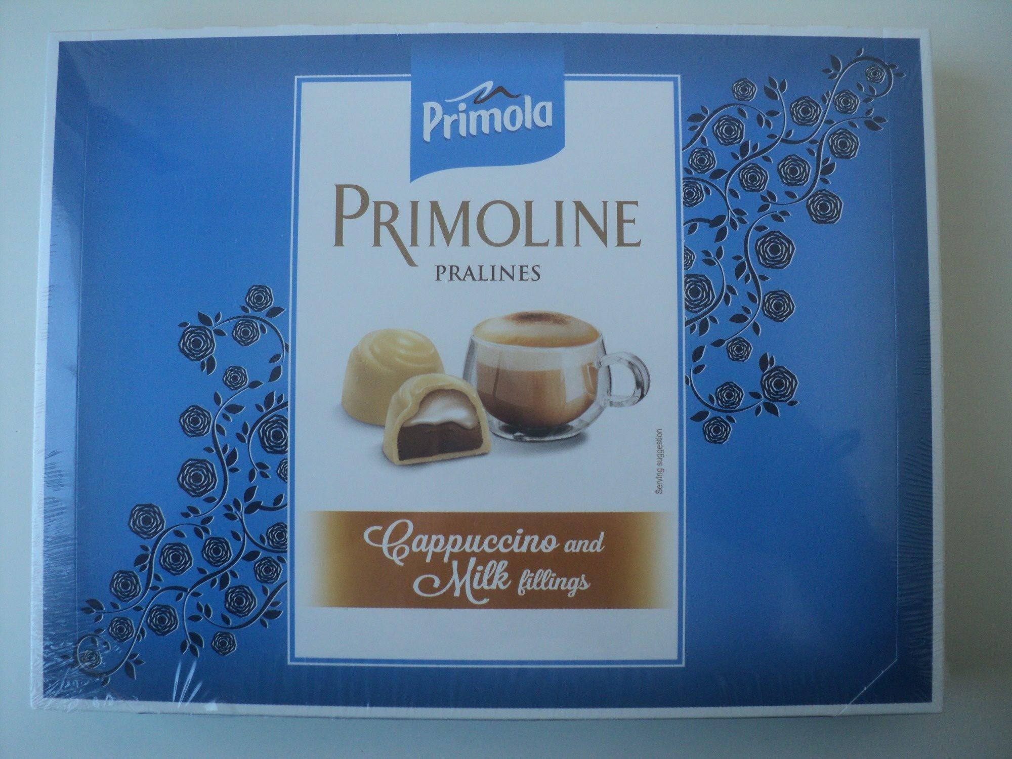 Praline de ciocolată albă - Produit