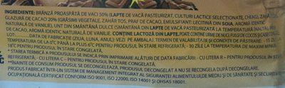 Mic-vis Brânzică glazurată cu cacao - Ingredients