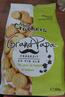 Mini crackers Grand Papa frăgezit cu vin alb - Product