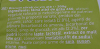 Mini crackers Grand Papa frăgezit cu vin alb - Ingrediënten