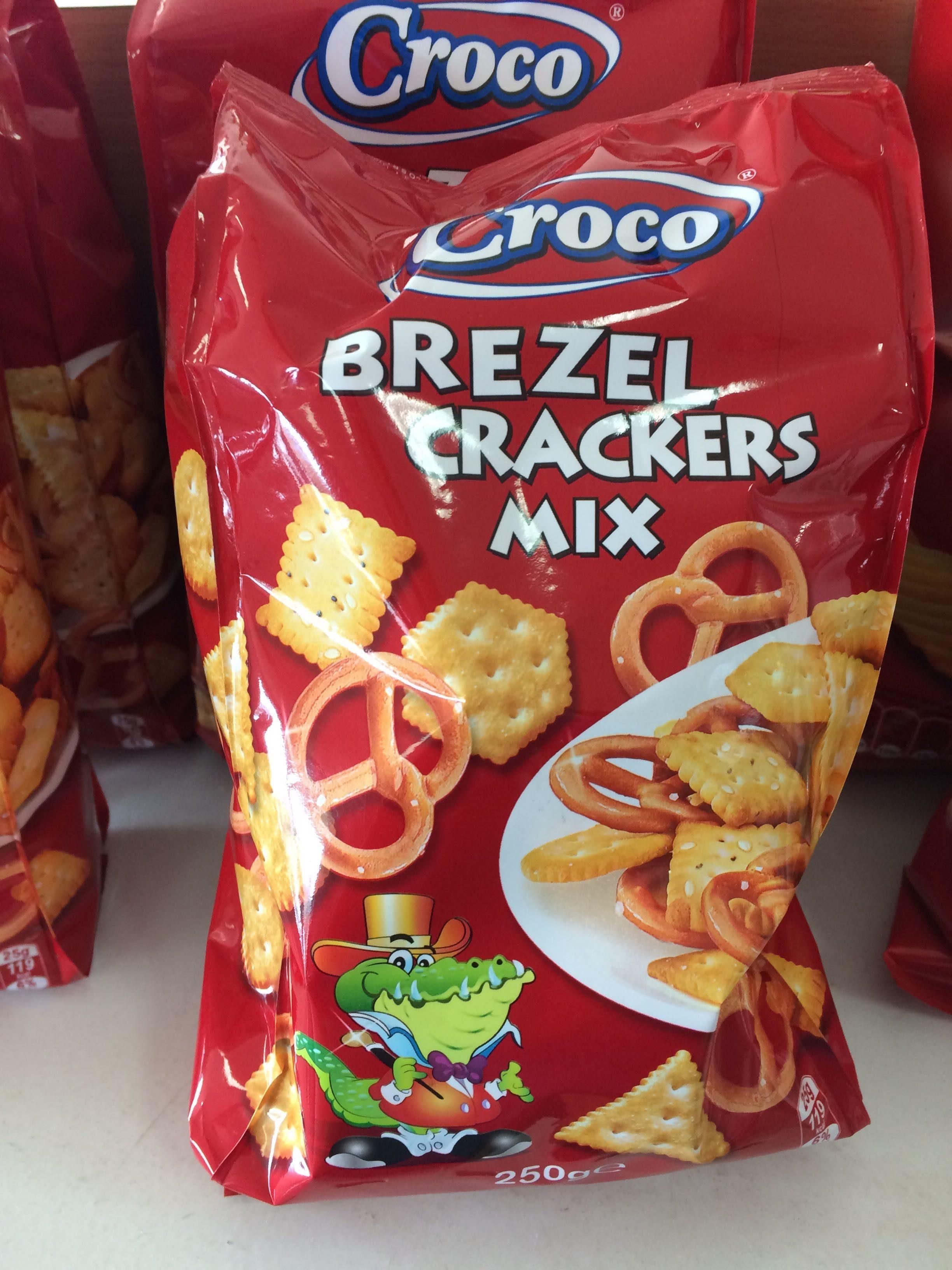 Croco Crackers & Brezel Mix - Producte