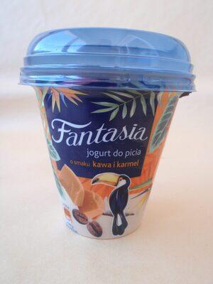 Danone Fantasia Iaurt de băut cu caramel și cafea - Produkt - ro