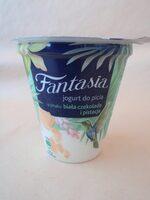Danone Fantasia Iaurt de băut cu ciocolata alba si aroma de fistic - Produkt - ro