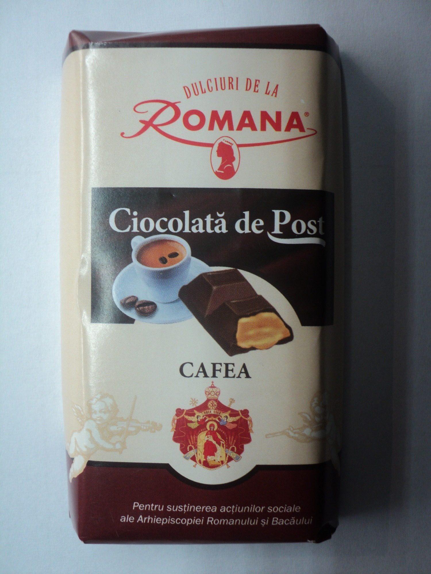 Romana Ciocolată de post - Produit