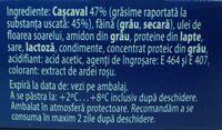 Hochland Cascaval pane - Ingrédients