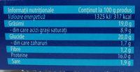 Hochland Cascaval pane - Informations nutritionnelles