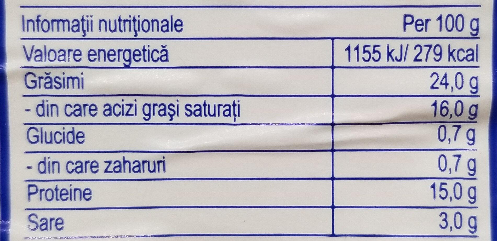 Hochland Telemea de vacă - Informations nutritionnelles - ro