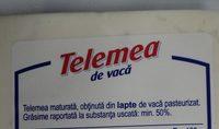 Hochland Telemea de vaca - Ingrédients - ro