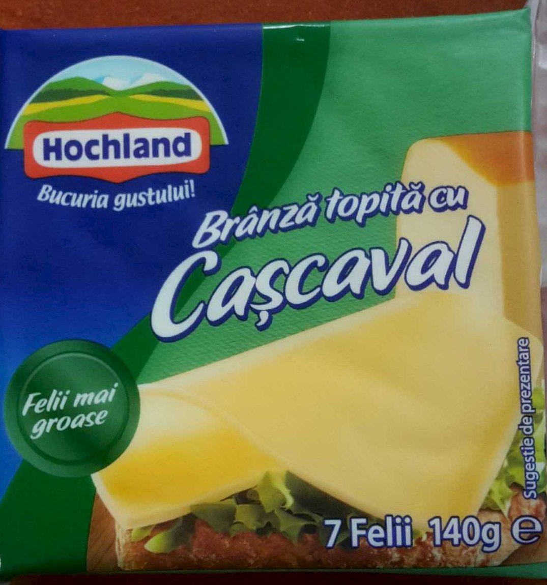 Hochland Brânză topită cu cașcaval - Produit - ro