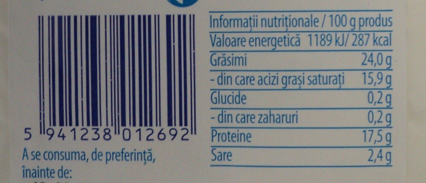 Hocland Feta din lapte de oaie si capra - Voedingswaarden - ro