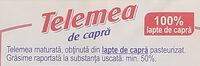 Hochland Telemea de capră - Ingrédients - ro