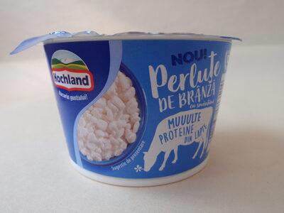 Hochland Perluțe de brânză cu smântână, 4% grăsime - Produit - ro
