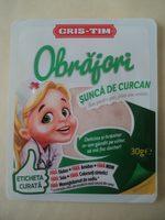 Obrăjori Șunca de curcan - Product - ro