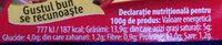Bucegi Pate Porc - Nutrition facts - ro