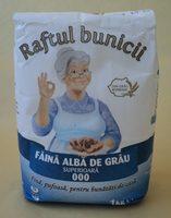 Raftul bunicii Faina alba de grau 000 - Product - ro
