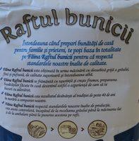 Raftul bunicii Faina alba de grau 000 - Ingredients - ro