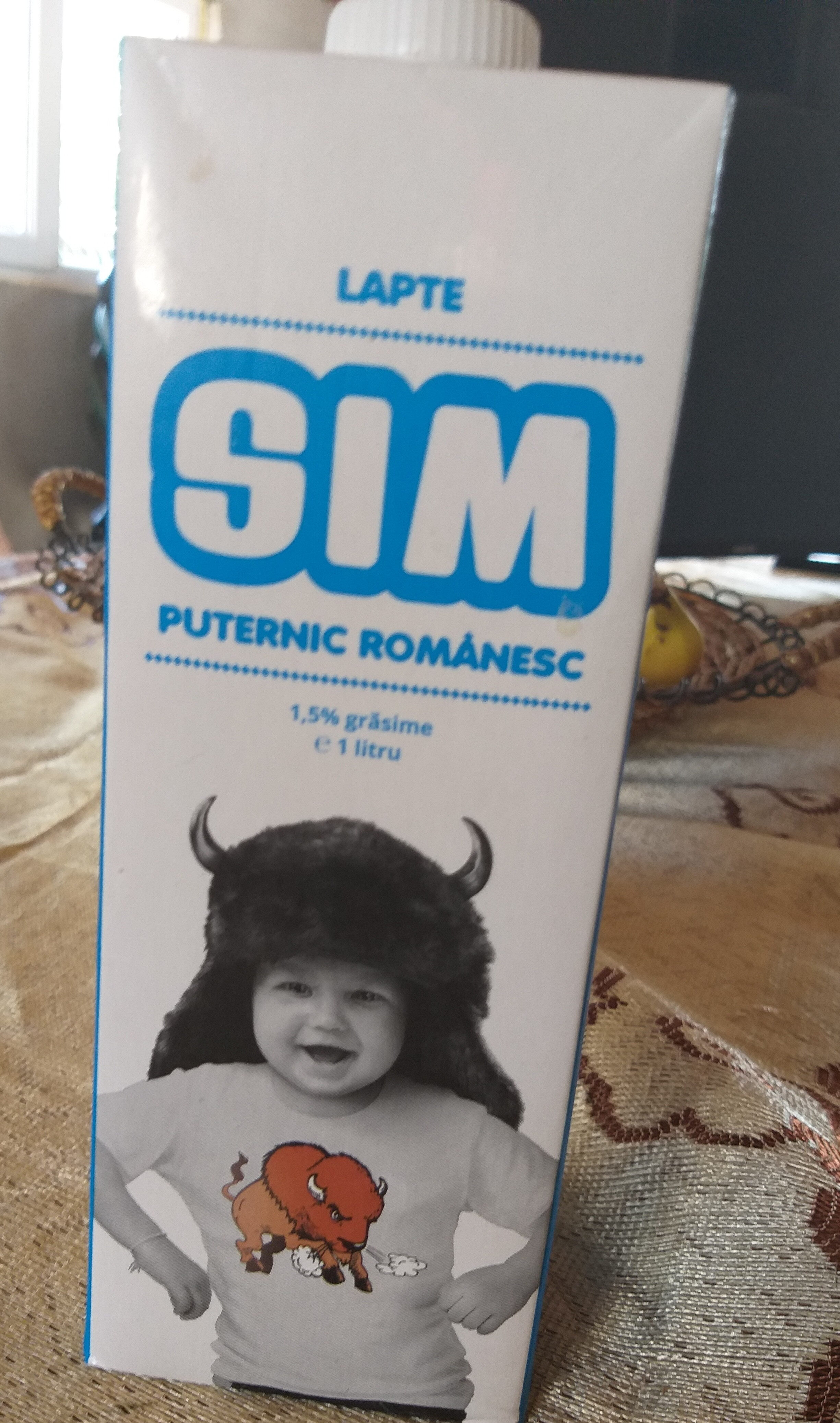 SIM Lapte de consum 1,5% grasime - Producto - ro