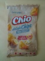 Chio Chipsuri din cartofi prăjiți, cu gust de ceapă dulce - Продукт - ro