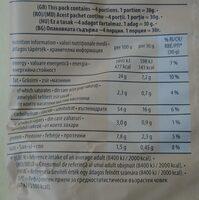 Chio Chipsuri din cartofi prăjiți, cu gust de ceapă dulce - Хранителна информация - ro