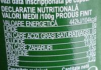 Olympia Pastă de tomate - Nutrition facts - ro